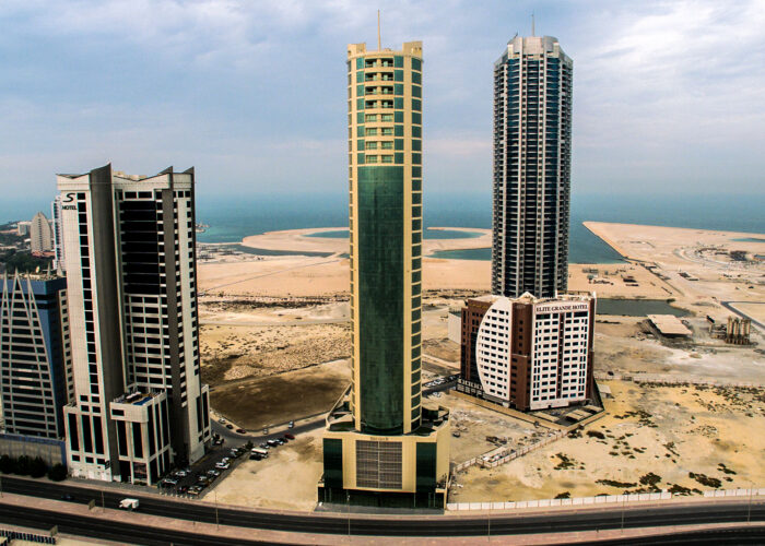 27 storied office building at seef area