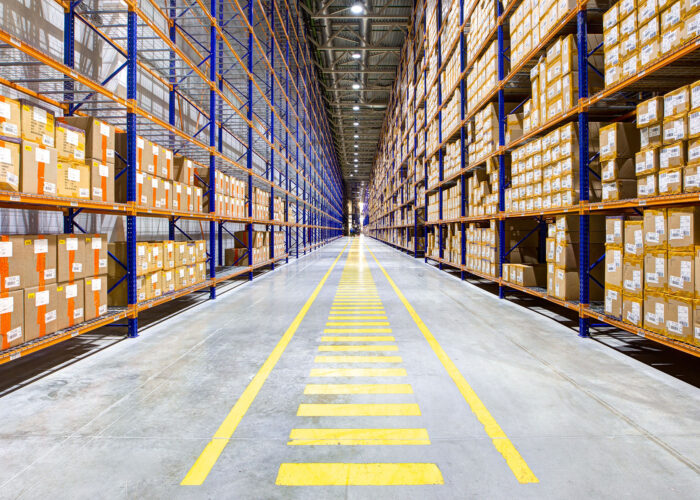 Warehouse at Minasalman for Intercol